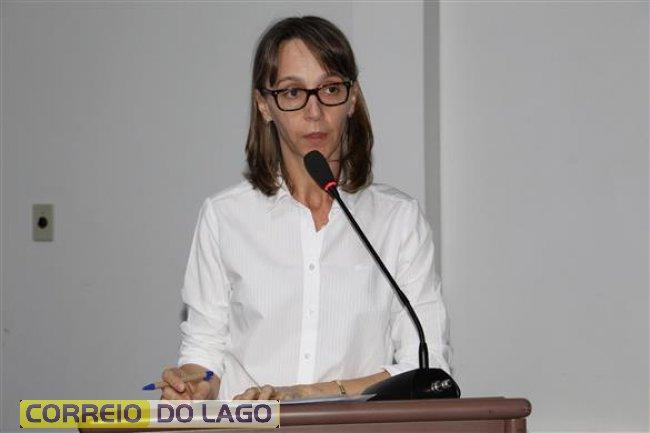 Vereadora Tânia Maria Ripp Maffini